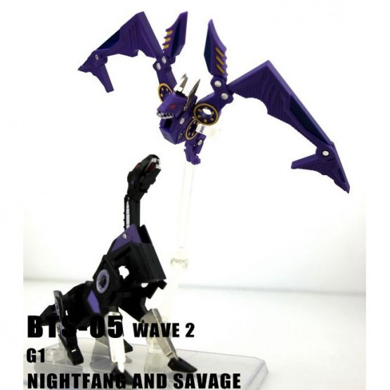 BTS-05 B WAVE 2 NIGHTFANG AND SAVAGE