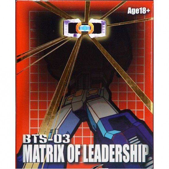 BTS-03 Optimus Prime Matrix of Leadership