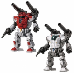 Diaclone Reboot  DA-77 POWERED SUITS SYSTEM SET VERSION A AND B