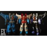 Zeta Toys  EX15 RED SPIDER EX16 THUNDERMAKER EX17 SKY GULL SET OF 3
