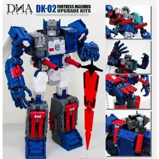 DNA DK-02 - Fortress Maximus Upgrade Kit