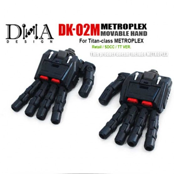 DNA DK-02M - Metroplex Movable Hand Kit