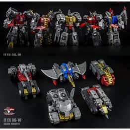 Iron Factory- IF-EX06 - 10 Ashura Knights Figure Set of 5