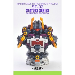 Master Made ST-02 Destruction Scorpion - Bust Add-on