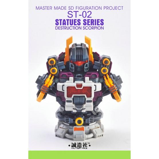 Master Made ST-02 Destruction Scorpion - Bust Add-on