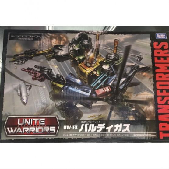 TakaraTomy Transformers Unite Warriors UW-EX Baldigus