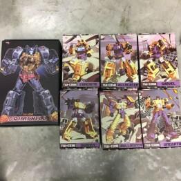 ToyWorld Constructor Full Set  (yellow)   Free  TW-D03 GRIMSHELL