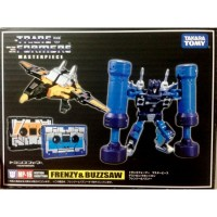 TakaraTomy MP-16  Frenzy & Buzzsaw Reissue with Coin