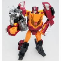 TakaTomy Transformers Legends - LG45 Targetmaster Hot Rod / Hot Rodimus