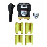 ToyWorld Constructor - G1 Replacement Head + Upper Leg (Yellow)