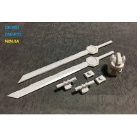 DR WU - DW-P31 - NINJA - Set of Swords & Weapons