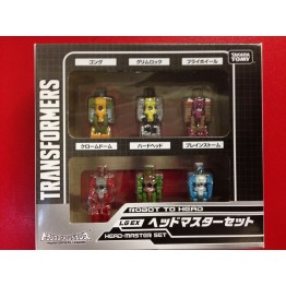 TakaTomy Transformers Legends  LG-EX HEADMASTER SET