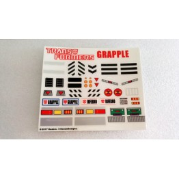 MP-35 Masterpiece Grapple Sticker