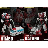 MakeToys  MTCM-04  HIMED + KATANA