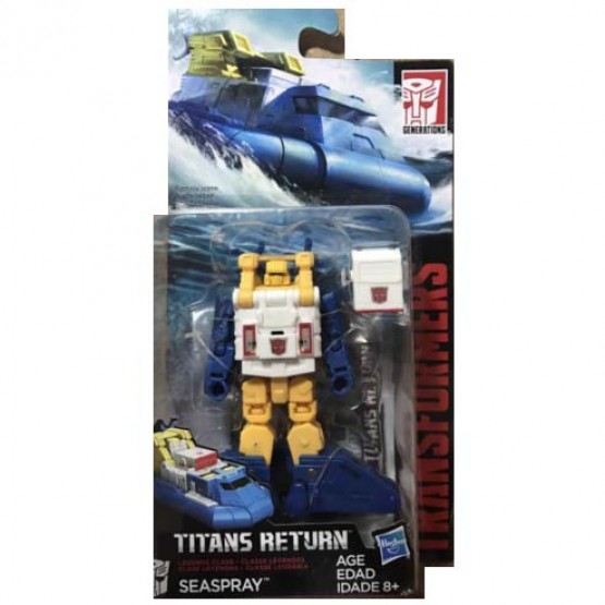 Hasbro Titans Return  Seaspray