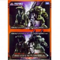 TakaraTomy DIACLONE REBOOT DA-05 POWER SUIT TYPE A & B SET