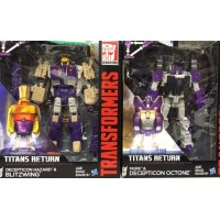 Hasbro Titans Return  Voyager Octone & Blitzwing set