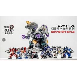 Master Made SDMT-01  SET of 6 Mini Figure