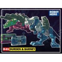 ROBOT HERO - R-01 DURDEN & BARNEY