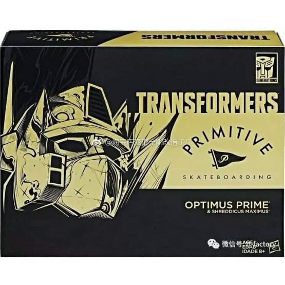 Hasbro Transformers Primitive Skateboarding  Optimus Prime