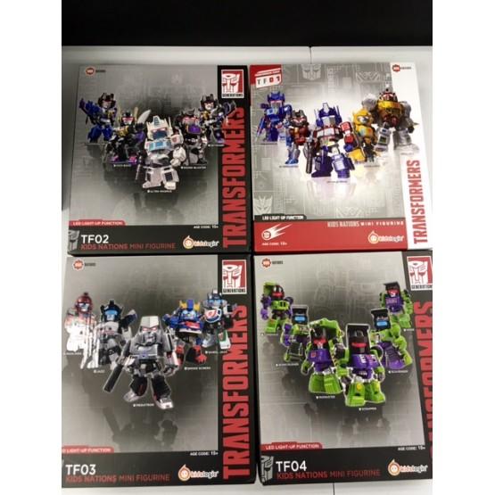 Kids Logic Transformers Nations #1 - 4 + Limited
