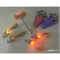 BK01 Weapon Set for Leader class Movie OP