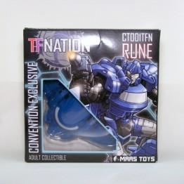 Maas Toys -CT-001TFN Rune (Blue) TFNation 2017