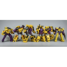 ToyWorld Constructor Full Set  (yellow)