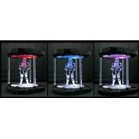 Inovative toys IT-01 LED Rotating base Black  with LED