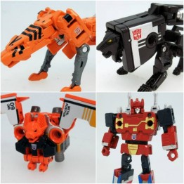 Takara Transformers Masterpiece MP-15E/16E - Cassettebot  vs Cassettron Exclusive