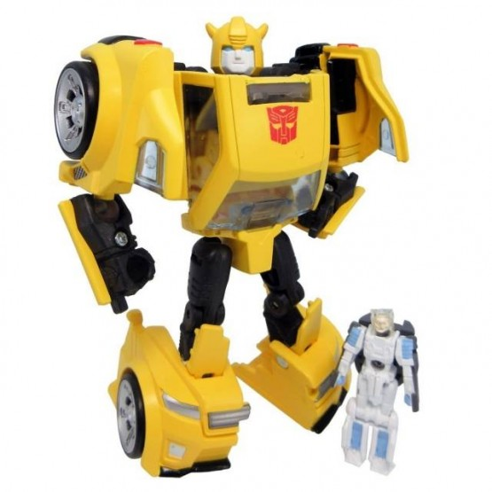 TakaraTomy  Legends Series  LG54  Bumblebee & Exo-Suit Spike