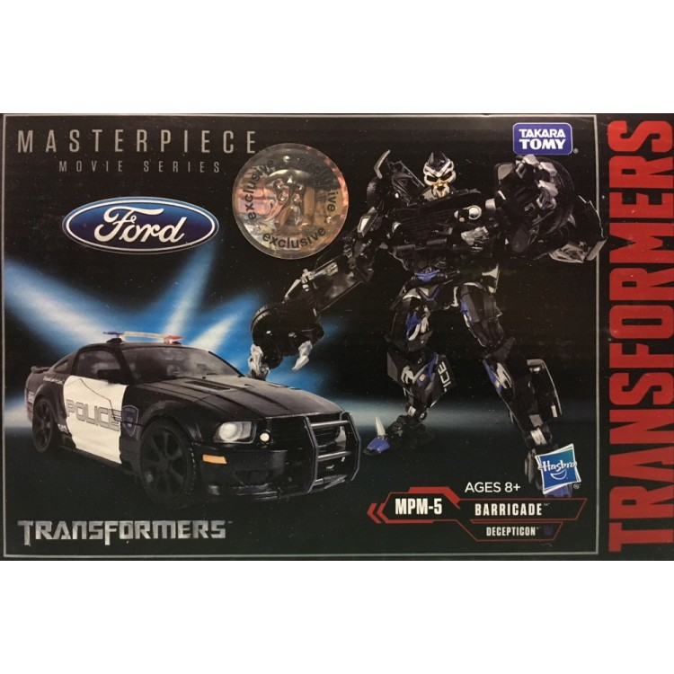 Hasbro Transformers Movie MPM-5 MPM-05 Barricade police car action figure