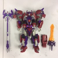 Hasbro Titans Return Aplha Trion + Dr Wu Weapons (USED)