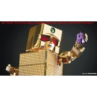 Action Toys ES Chogokin Gold Lightan (24K Version)