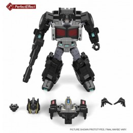 Perfect Effect  PC-20  BLACK JINRAI for SDCC Exclusive OP