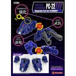 Perfect Effect  PC-22 Perfect Effect  POTP Starscream Set