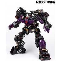 Generation Toy GT-88 BlackJudge Devastator Black Metallic Painted Ver