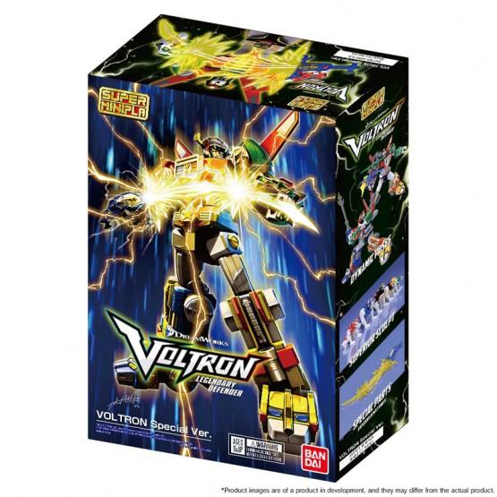 Bandai -Voltron Defender of the Universe - Super Mini Pla