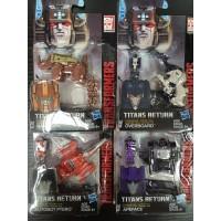 Hasbro Titans Return  Ramhorn+ Overboard+ptero+apeface