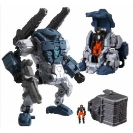 TakaraTomy Diaclone  DA-02 03 04 POWERED-SUIT SET TYPE  A+B+Nauts Set