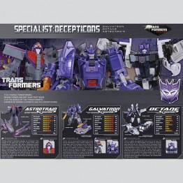 Henkei Classics - Decepticon Specialists -Galvatron Octane Astrontrain