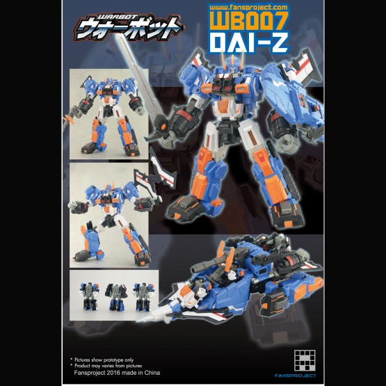 Fansproject  WB 007 DAI-Z