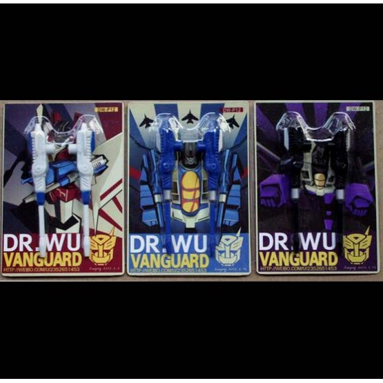 Dr Wu DW-P12 Vanguard 3 pack