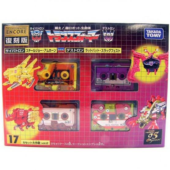 TakaraTomy  Transformers G1 Encore 17 Cassette Vol 2