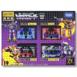 TakaraTomy Transformers G1 Encore 19 Cassettes Vol 3