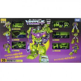 TakaraTomy  Transformers Encore 20 Devastator with Coin