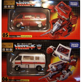 TakaraTomy Transformers G1 ENCORE 05 06 Ratchet Ironhide