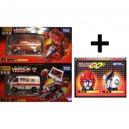 TakaraTomy  Transformers G1 ENCORE 05 06 Ratchet Ironhide + Head set