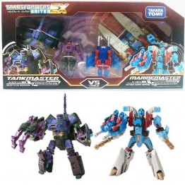 TakaraTomy Transformers United EXP03 TANK MASTER VS MARIN MASTER