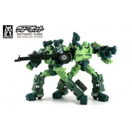 Fansproject Transformers Warbot WB-005 WB-006 Recoiler & Riftsho